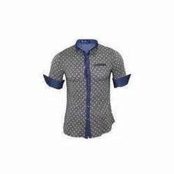 Cotton Mens Printed Shirt