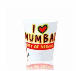 Mumbai Ceramic Shot Glass