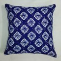 Indigo Hand Block Cushion Cover