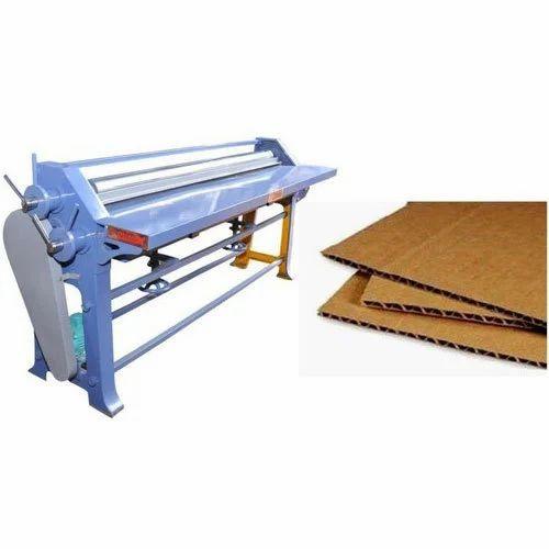Semi-Automatic Sheet Pasting Machine