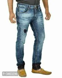 Comfort Fit Casual Wear Mens Jeans