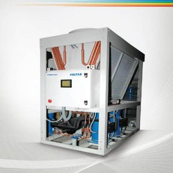 Voltas Air Cooled Scroll Chiller, Voltage: 440 V, Steel Three Phase