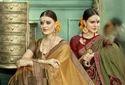 Designer Chiffon Saree with Blouse