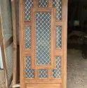 Wooden Jali Door Design in India 2019