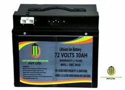 72V 30AH LITHIUM ION BATTERY