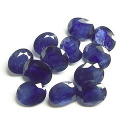 Astrology African Blue Sapphire Natural Gemstone, Carat: 2 To 7 Cts