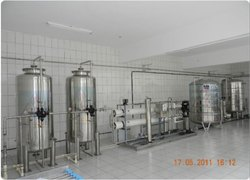 Large Scale Soft Drink Plant