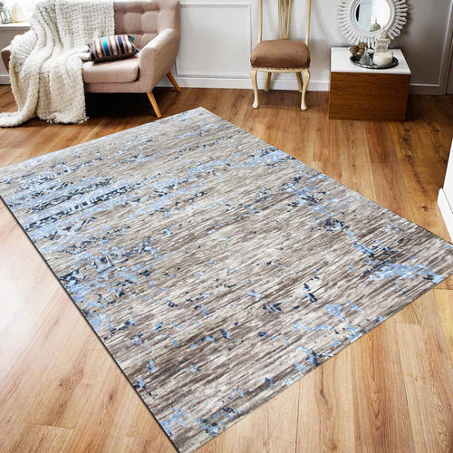 Hand Knotted Living Room Center Rugs