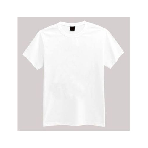 db95ad4e Medium And Large Mens White Plain T Shirt, Rs 90 /piece | ID ...