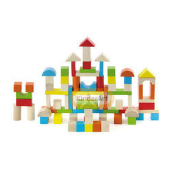 80pcs Colorful Block Set