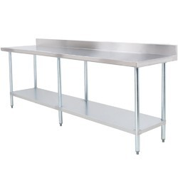 Stainless Steel Mirror/matt SS Vegetable Cutting Table