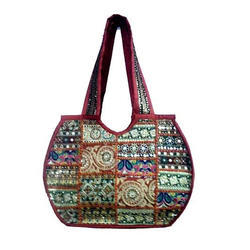 Printed Cotton Designer Hand Bags