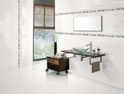 Agl Tiles Satin Bianco Ceramic Wall Tiles