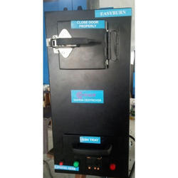 Used Sanitary Napkin Incinerator Machine
