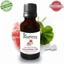 KAZIMA 100% Pure Natural & Undiluted Geranium Oil