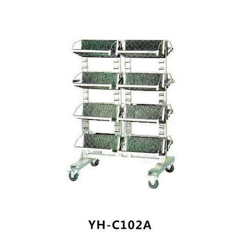 Stainless Steel Anti Static PCB Trolley, Yu Hai Technology