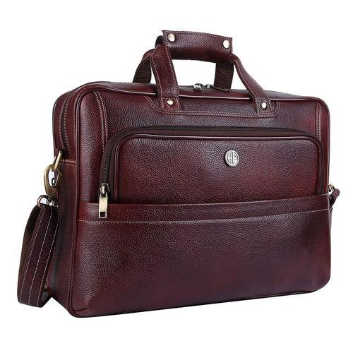 Product Image. Original Bombay Brown Leather 15.6 Inch Laptop Messenger Bag a1e9b6315