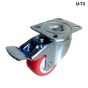 light duty pu caster wheel