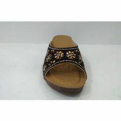 Black Party Wear Ladies Party Footwear