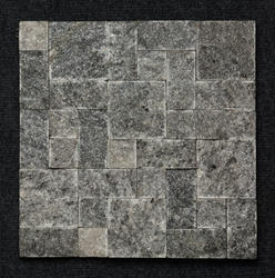Black Granite Roman Patter Mosaic Tiles