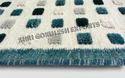 White Sge Wool Shaggy Carpet
