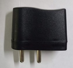 Black Mobile Charger Housing