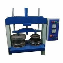 Double Die Semi Hydraulic Wrinkle Paper Plate and Buff Plate Making Machine