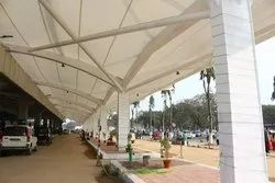 Kiosk Fabric Tensile Structure