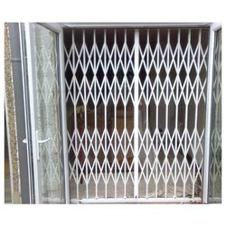 Matte Stainless Steel SS Collapsible Gates
