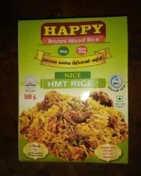HAPPY Biriyani HMT Rice (Ready Mix), Packaging Size: 25 to 50 kg, Packaging Type: PP Bag