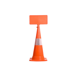 Plastic Traffic Cone Message Plate