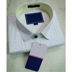 Optional Collar Neck Mens Formal Shirt, Packaging Type: Box, Machine wash