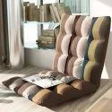 Kawachi Adjustable Floor Sofa Comfortable Back Support Chair Great for Reading Games Meditation kw31