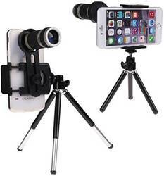 ROQ 8X Zoom Camera Telephoto with Tripod Kit Mobile Phone Lens