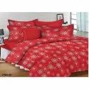 Lion King Red Double Bed Sheets