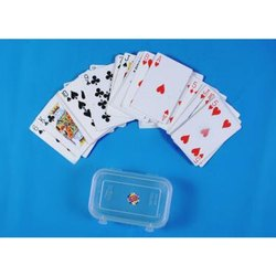 Playing Cards In Plastic Coated