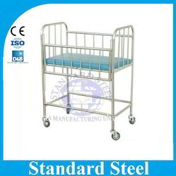 White Hospital Baby Cot