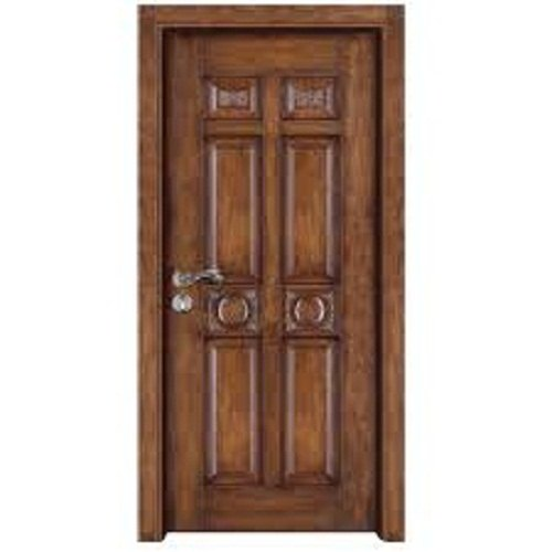 Exterior Polished Designer Teak Wood Door for Home, Thickness: 15mm
