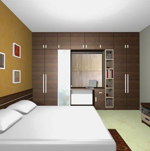 Wood Bedroom Wardrobes Rs 975 Square Feet Raghava