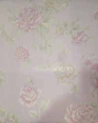 Tile Pattern Printed PVC Designer Wallpaper for Home
