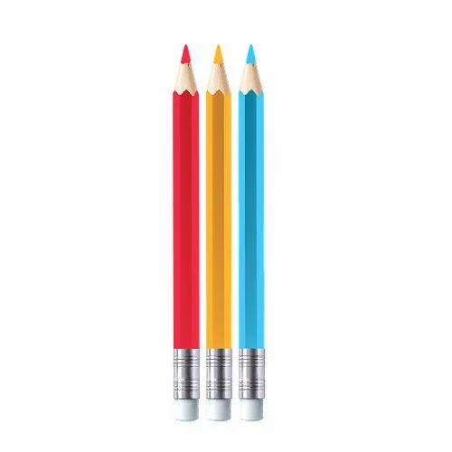 Wood,Rubber Erasable Color Pencils