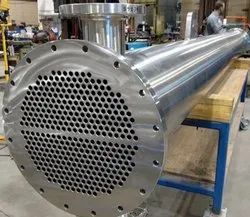 Steel Ammonia Chiller, For Food Process Industry, Water