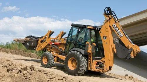 CASE 590SN Backhoe Loader, 108 hp, 9280 kg