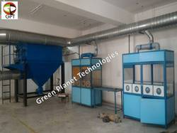Dust Extraction System for E Waste Recycling