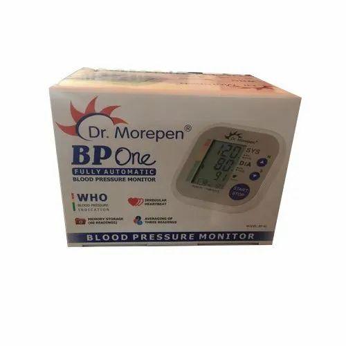 e4b9e36c2 Portable Dr. Morepen BP-02 Automatic Blood Pressure Monitor