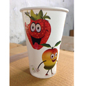 330ml Fruit Juice Paper Glass