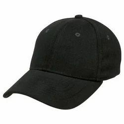 Black Casual Cap