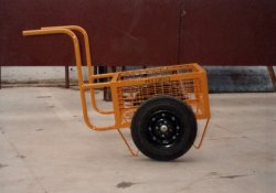Mild Steel Industrial Trolley, Loading Capacity: 50-100 kg