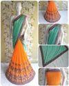 Riva Enterprise Women's Lycra Pallu Embroidered Saree