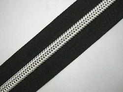 No 4 Nylon Silver Zippers